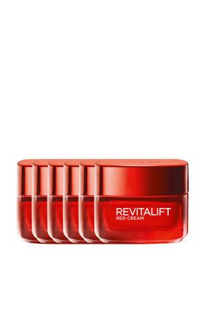 Revitalift revitaliserende Red Cream Dagcrème - 6x 50ml multiverpakking