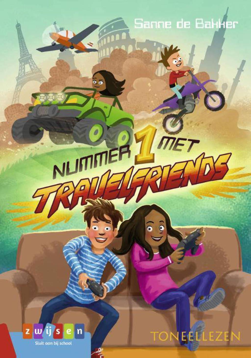 Toneellezen: Nummer 1 met Travelfriends - Sanne de Bakker