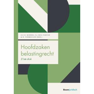 Boom fiscale studieboeken: Hoofdzaken belastingrecht - Otto Marres, Suzanne Mol-Verver en Hein Vermeulen