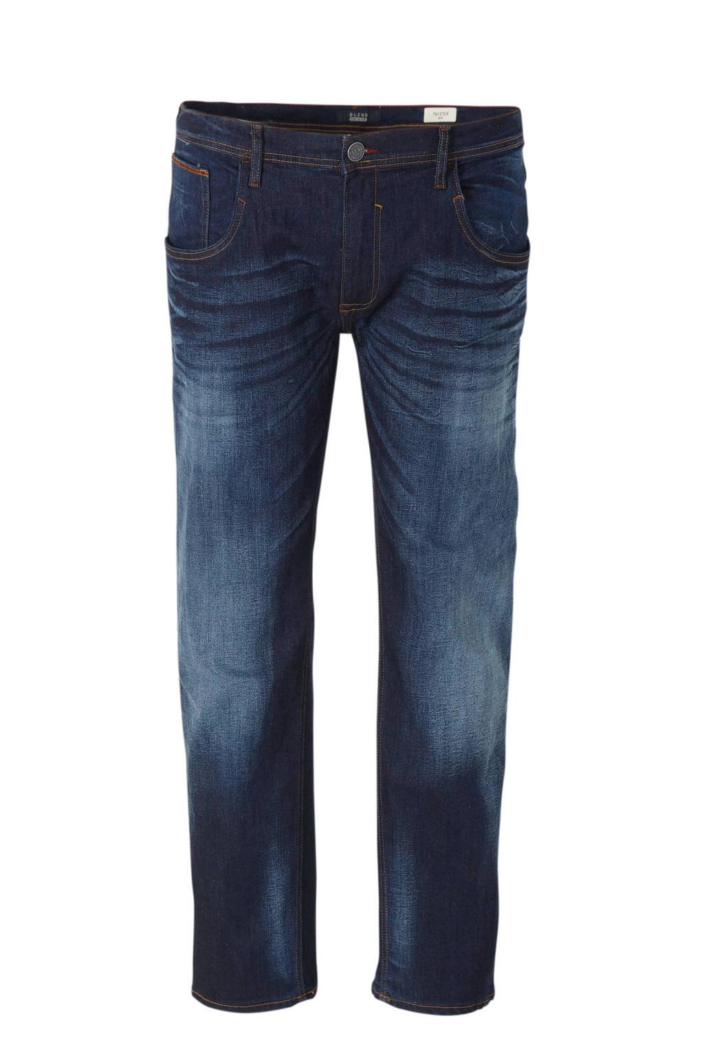 Blend Big slim fit jeans Twister 76207 denim dark blue, 76207 Denim Dark Blue