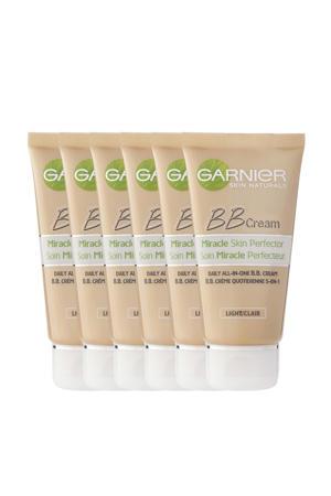 Skinactive BB cream classic Light 5-in-1 dagverzorging - 6x 50ml multiverpakking