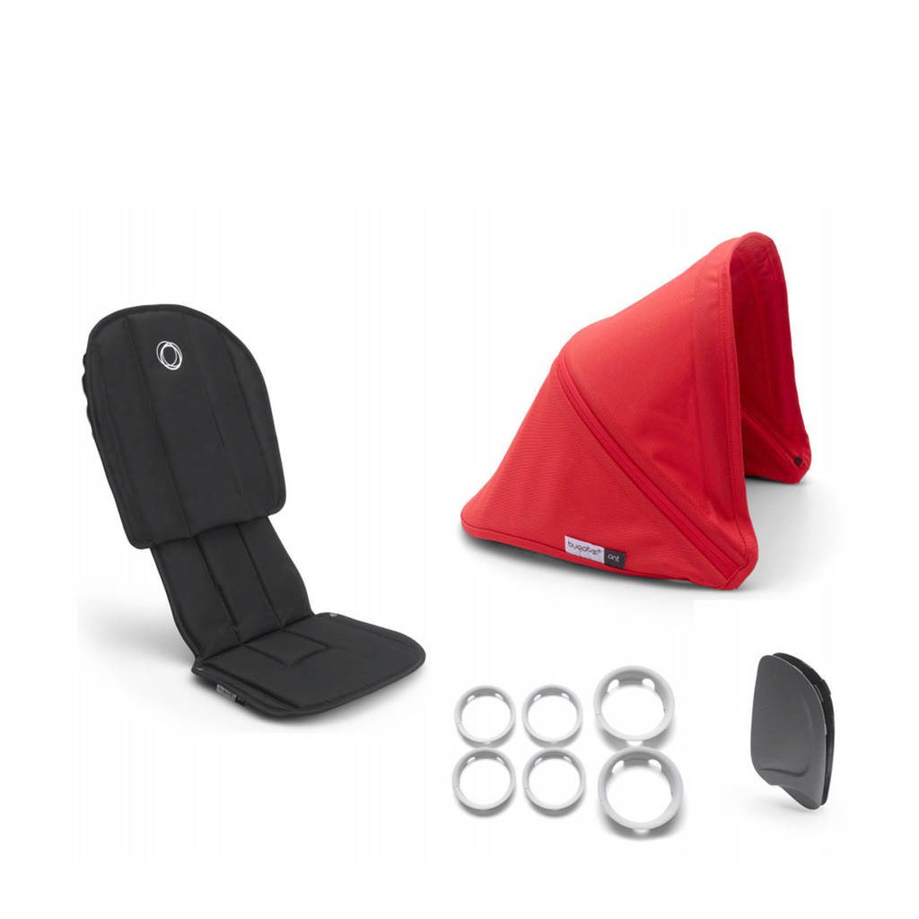 Bugaboo Ant Ant Style Set Compleet, Rood
