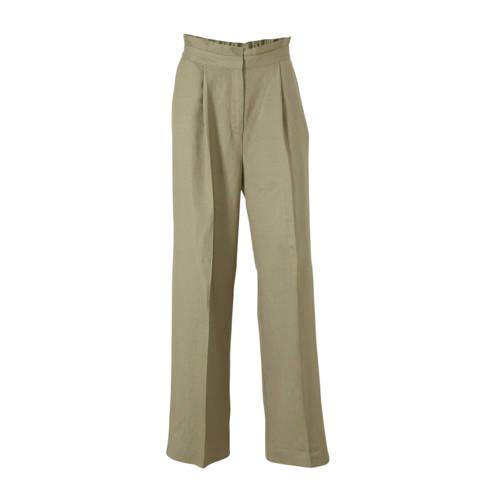 Soaked In Luxury high waist loose fit pantalon Aya