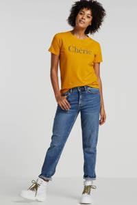 VERO MODA straight fit jeans, Blauw