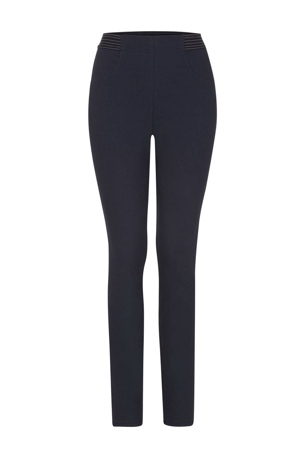 Miss Etam Regulier skinny pantalon blauw, Blauw