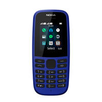 Nokia 105 NEO mobiele telefoon + lebara blauw, N.v.t.