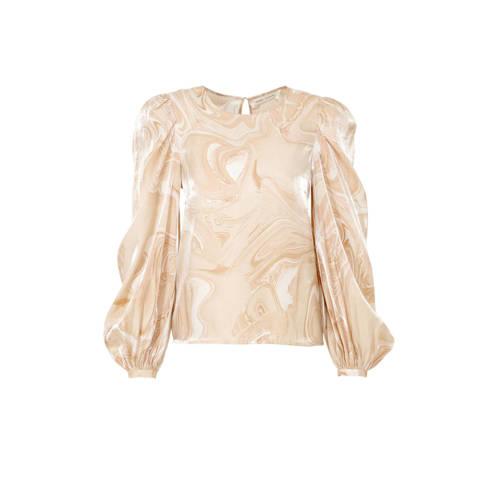 Inwear top CherieI met all over print beige