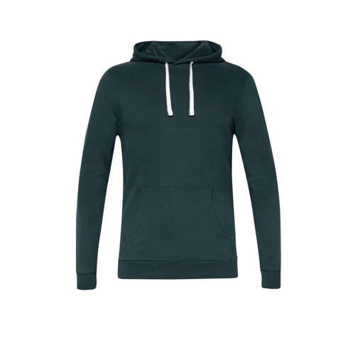edc Men hoodie donkergroen