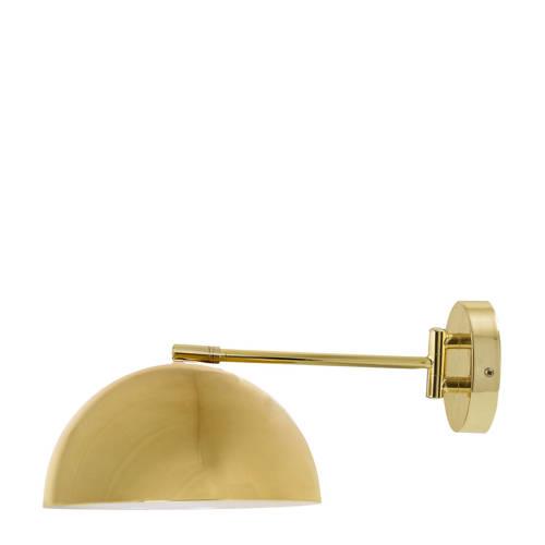 Bloomingville Cord & Switch Wandlamp 50 cm Goud-Zwart