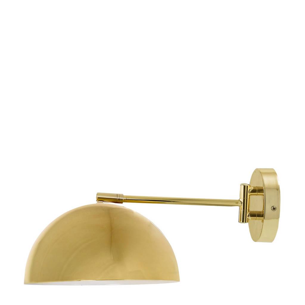Bloomingville wandlamp, Goud