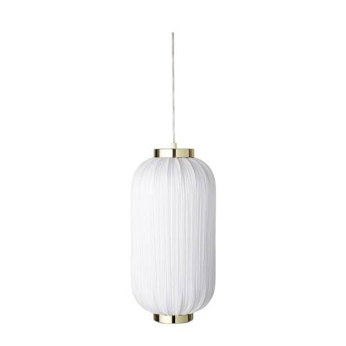 Bloomingville Hanglamp Polyester-Ijzer Wit Ø25 x 50 cm