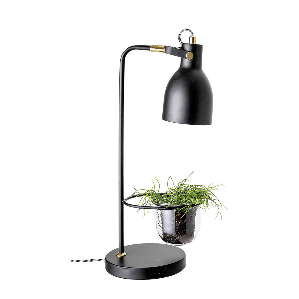 Bloomingville tafellamp, Zwart