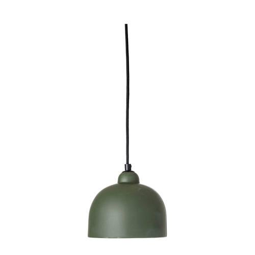 Bloomingville Hanglamp Aardewerk-Ijzer Groen Ø18 x 15,5 cm
