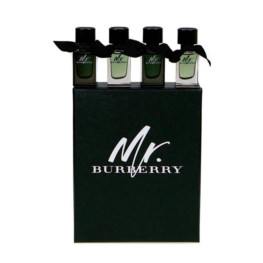 Burberry Mr geschenkset eau de toilette - 4x 5 ml