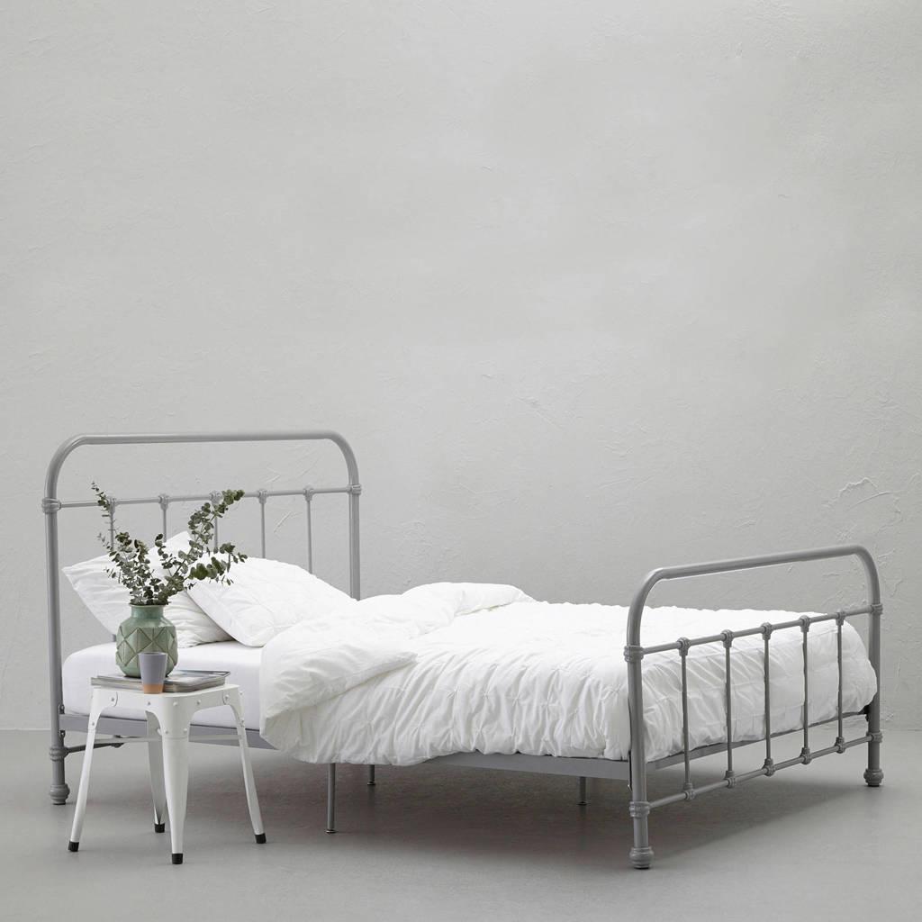 whkmp's own bed Lyon (140x200 cm), Grijs