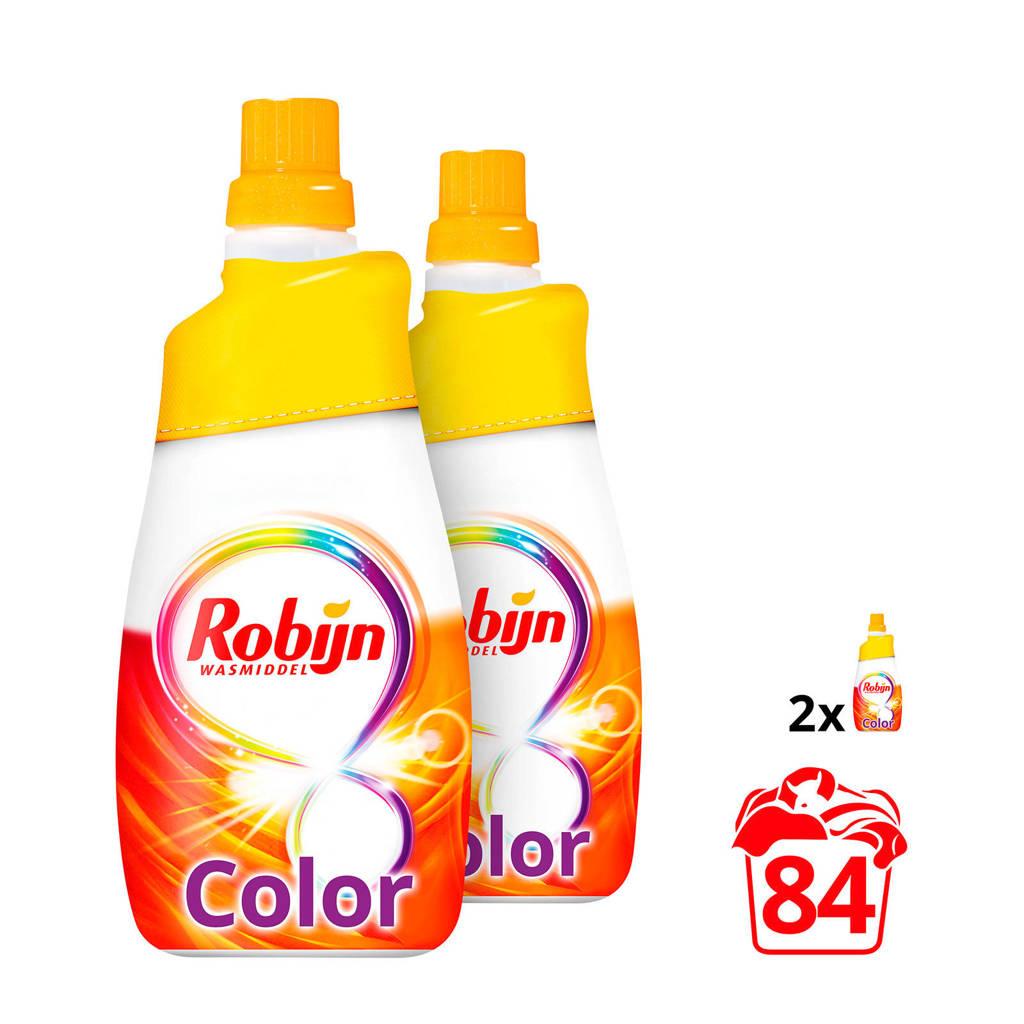 Robijn Klein & Krachtig Color wasmiddel - 84 wasbeurten - vloeibaar