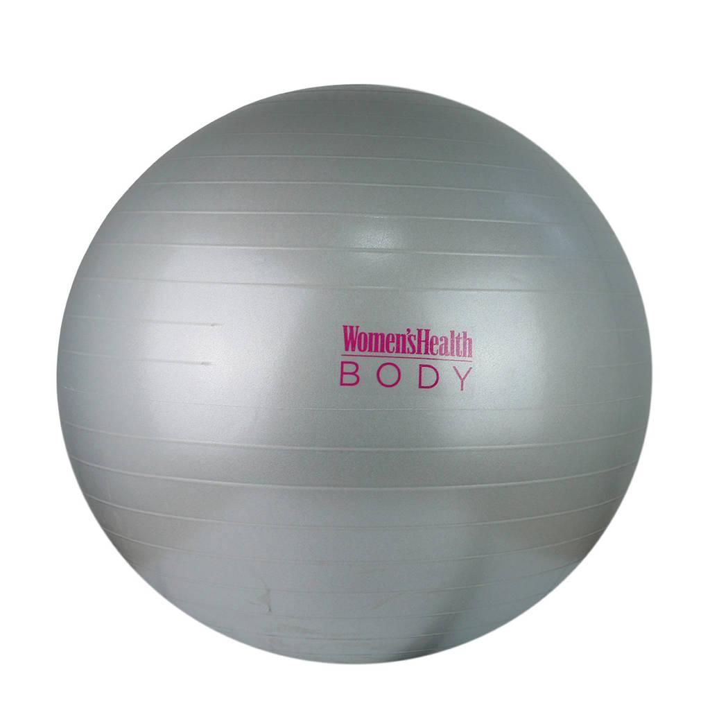 Women's Health  Gym Ball - Fitness bal - 55 cm, Grijs