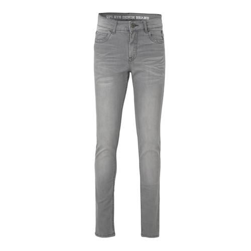 Quapi regular fit jeans Jake grijs
