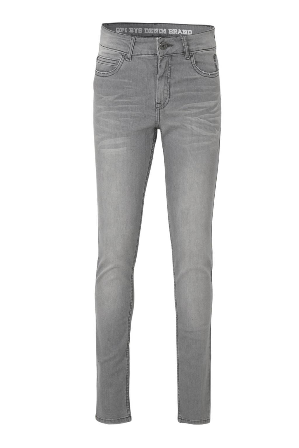 Quapi regular fit jeans Jake grijs, Grijs