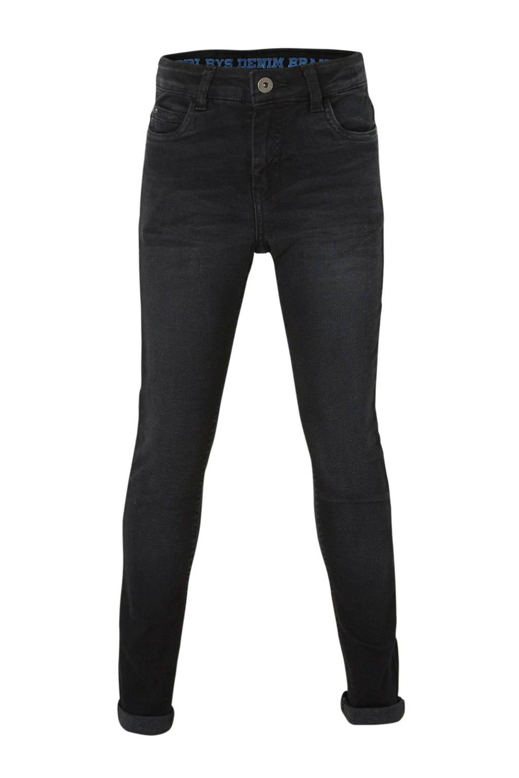 Quapi regular fit jeans Jake zwart, Zwart