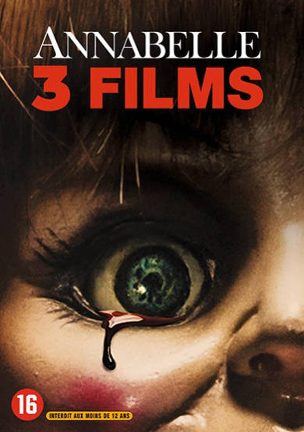 Annabelle 1-3 (DVD)