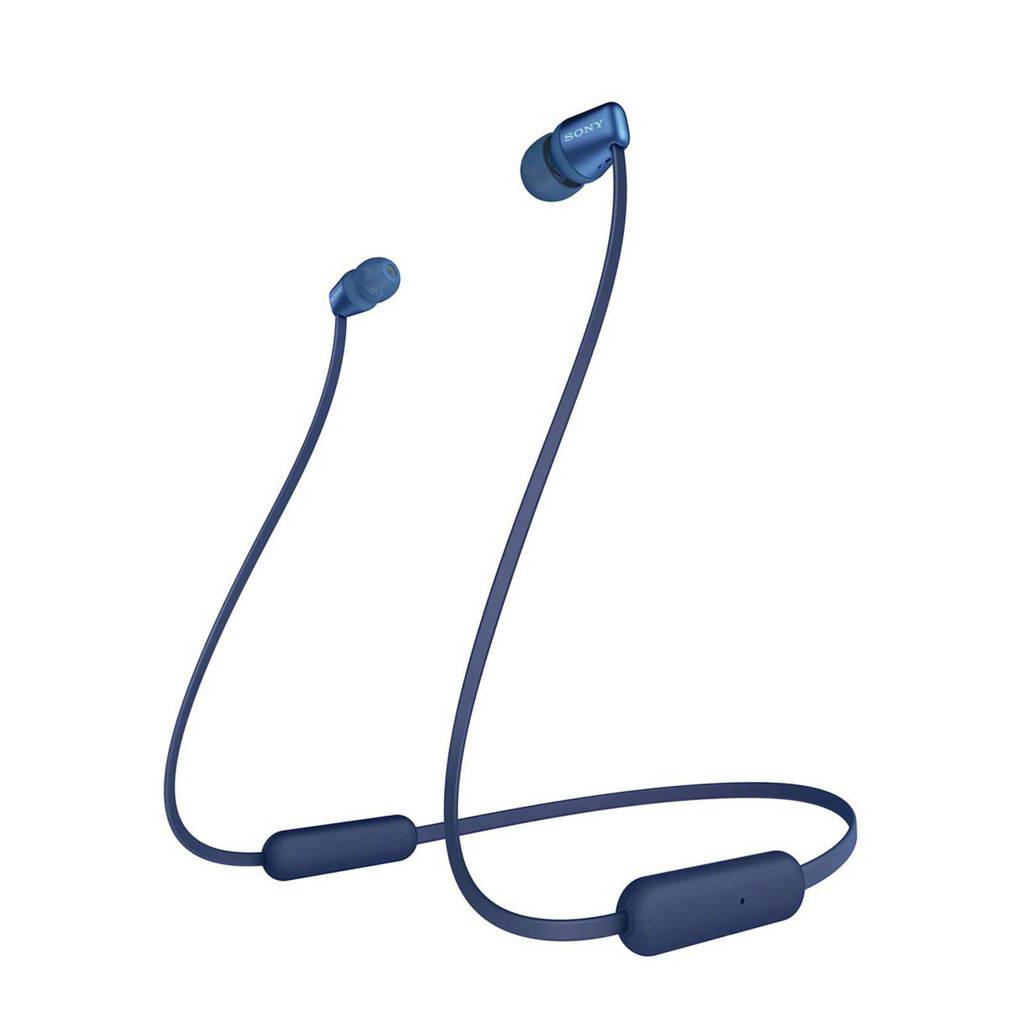 Sony WI-C310 Bluetooth oortjes, Blauw