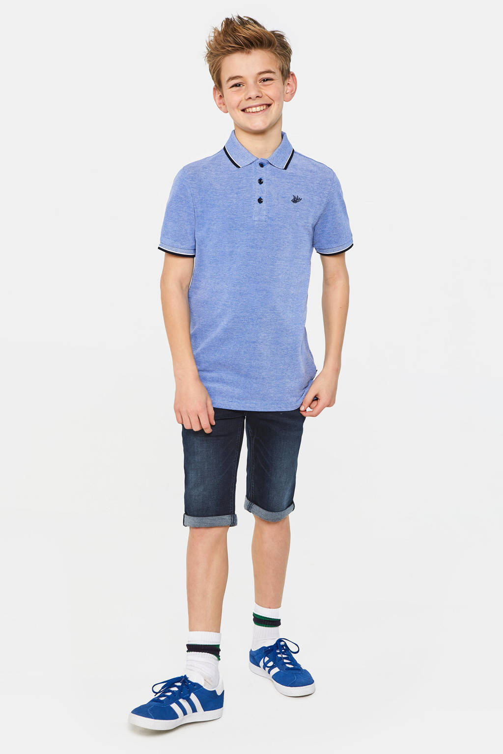 WE Fashion Blue Ridge jeans bermuda dark denim, Dark denim
