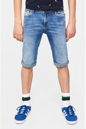 slim fit jeans bermuda Zeke Bruce retro blue