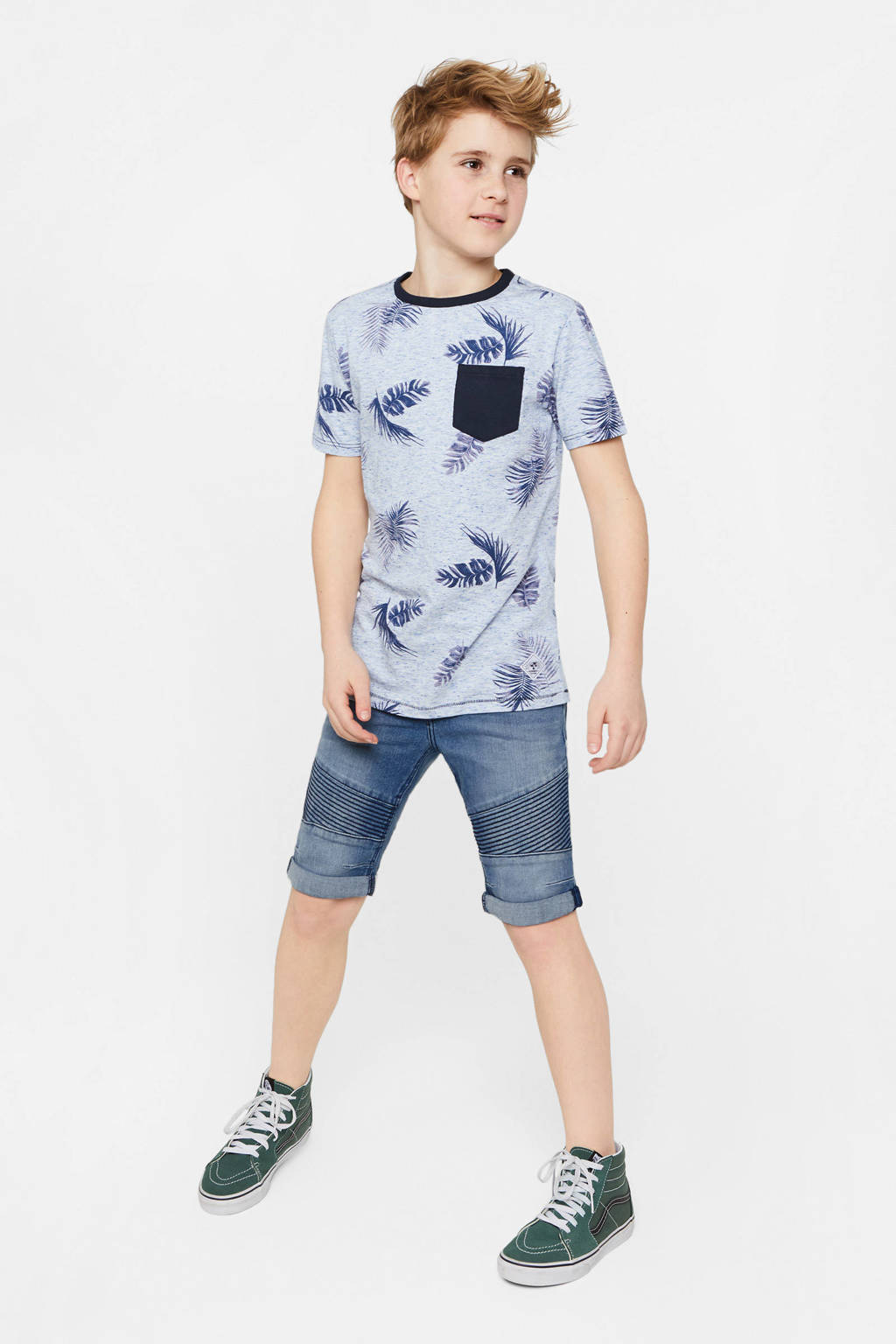 WE Fashion Blue Ridge jeans bermuda Hence Bruce light denim, Light denim