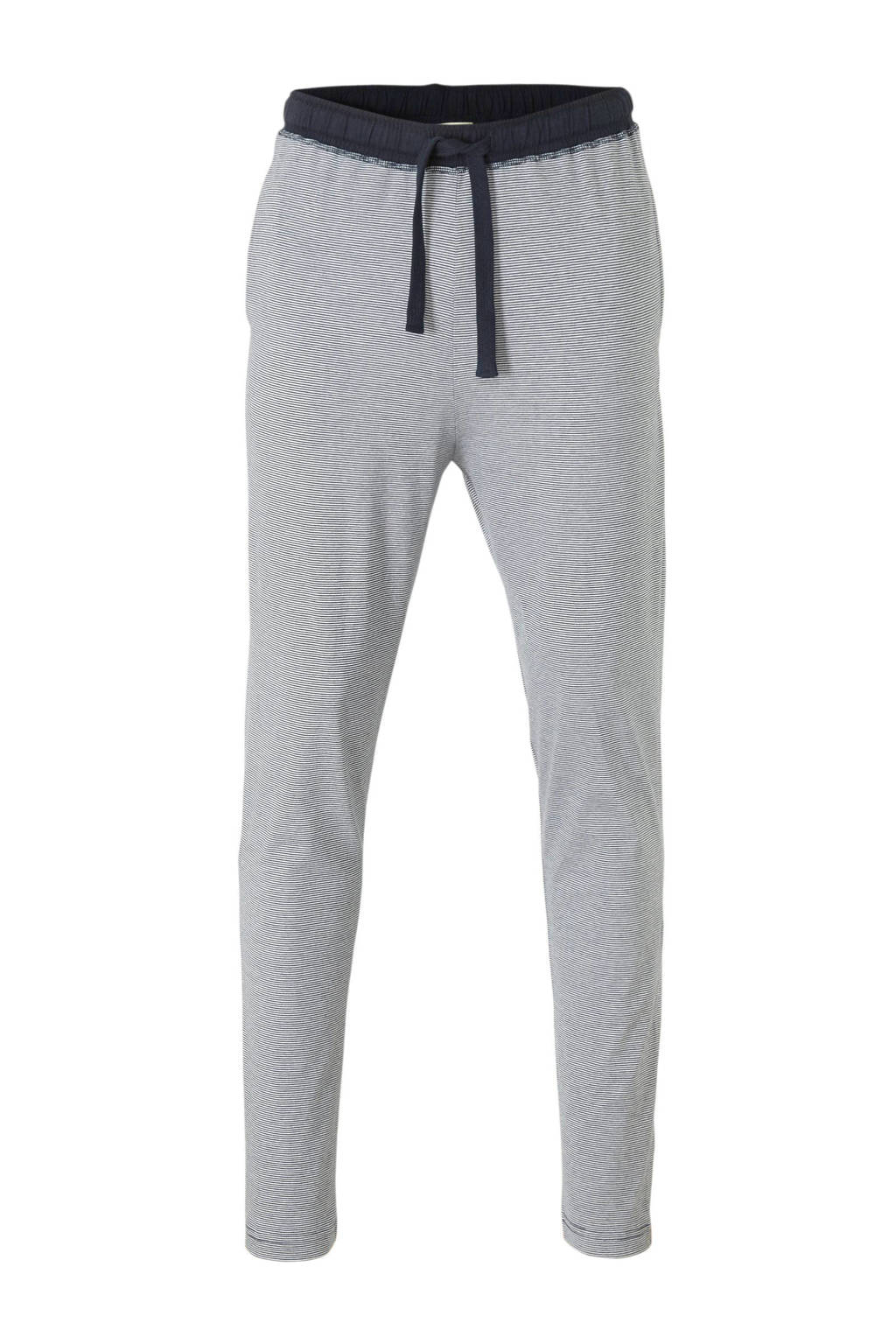 Tom Tailor gestreepte pyjamabroek marine/wit, Marine/wit