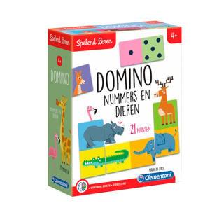 Spelend Leren dieren domino