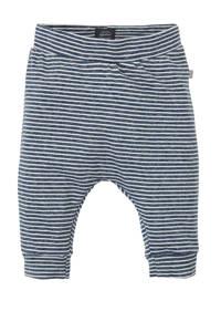 Babyface gestreepte broek donkerblauw/wit, Donkerblauw/wit