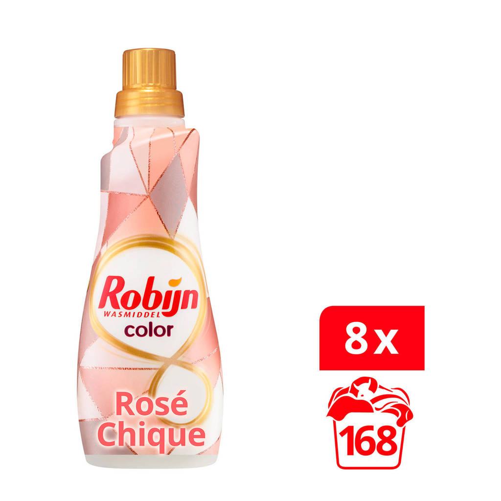 Robijn Klein & Krachtig Rosé Chique Color wasmiddel - 168 wasbeurten - vloeibaar