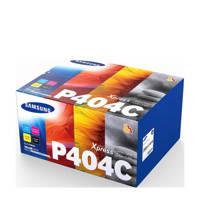 Samsung CLT-P404C/ELS tonercartridge valuepack, zwart, cyaan, magenta, geel