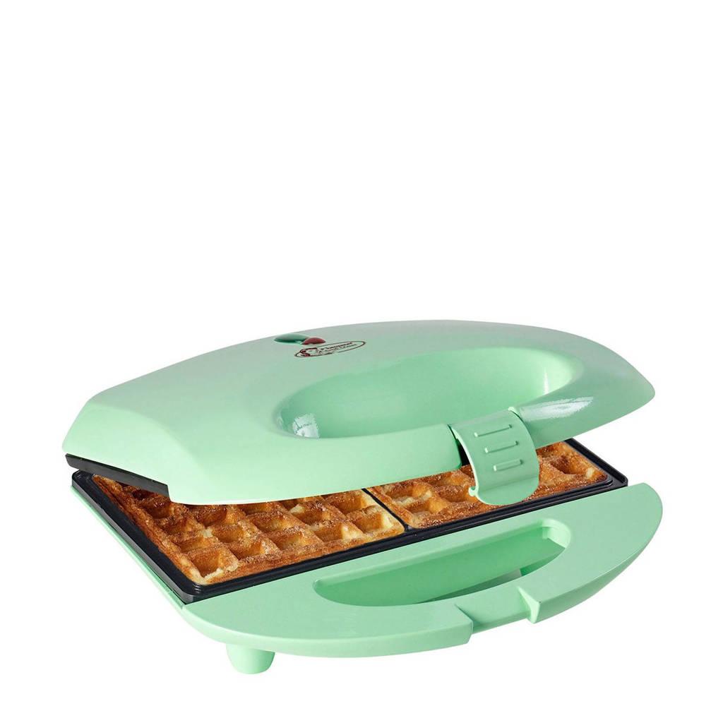 Bestron ASW401 wafelmaker, Turquoise