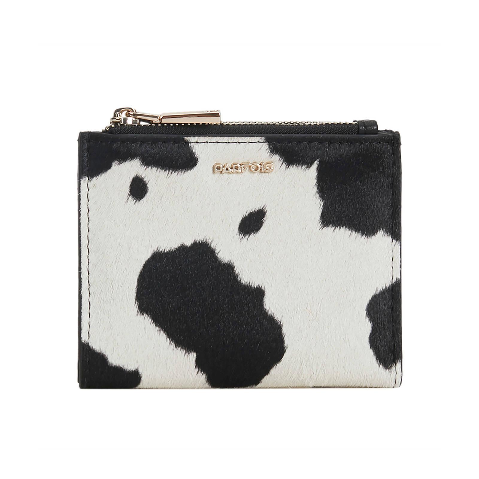 Parfois portemonnee met koeienprint wit S | wehkamp