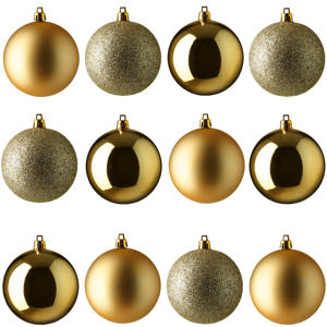 kerstbal (Ø6 cm) (set van 12)