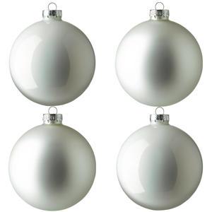 kerstbal (Ø10 cm) (set van 4)