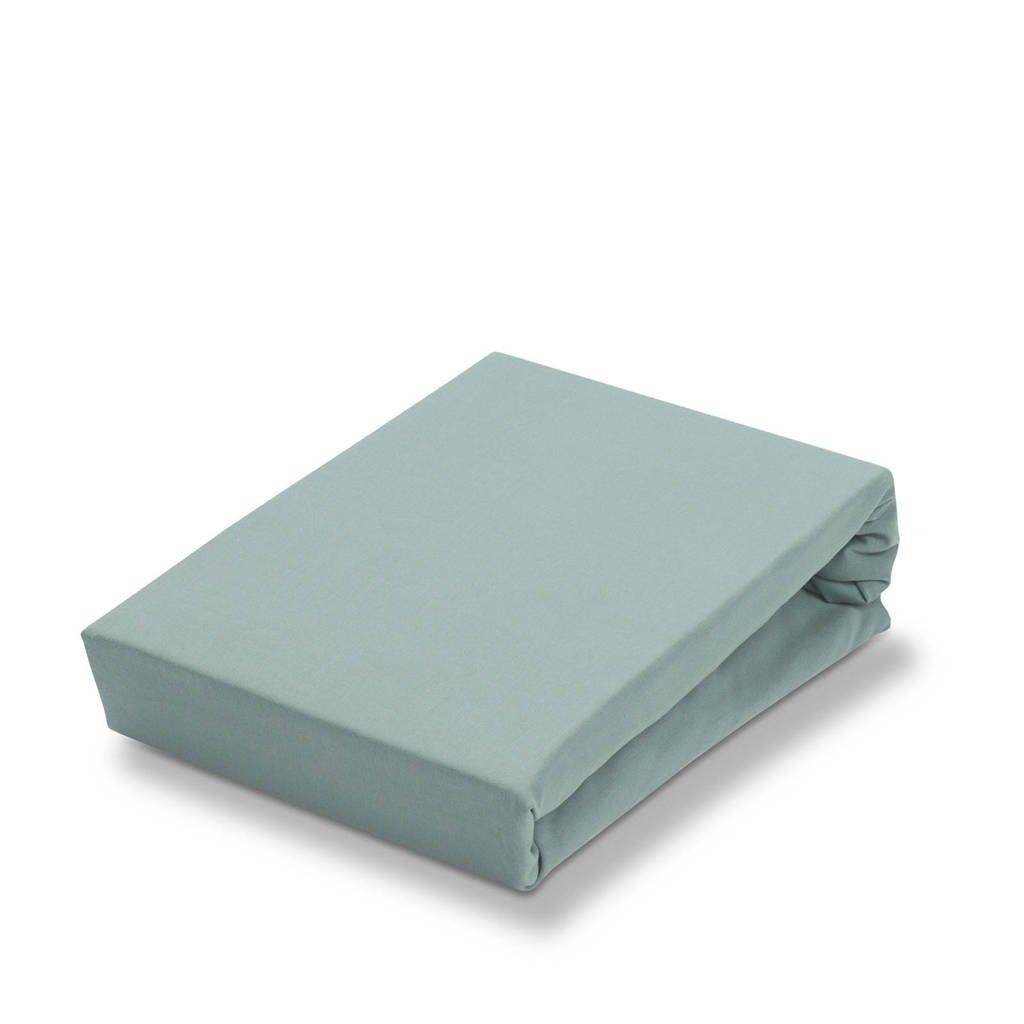 Vandyck jersey Soft stretch hoeslaken Celadon groen
