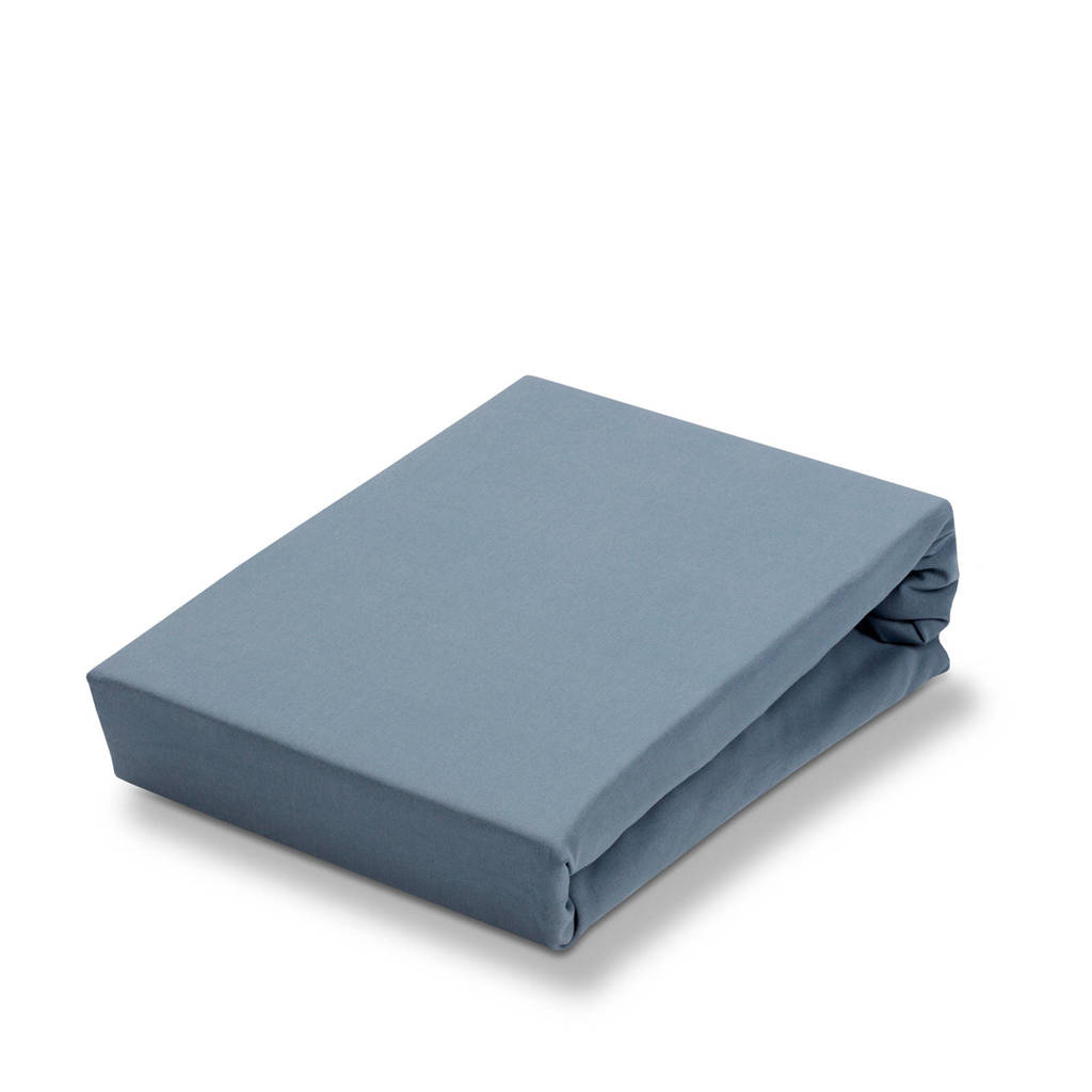 Vandyck jersey Soft stretch hoeslaken Blauw