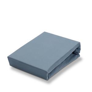 jersey Soft stretch hoeslaken Blauw