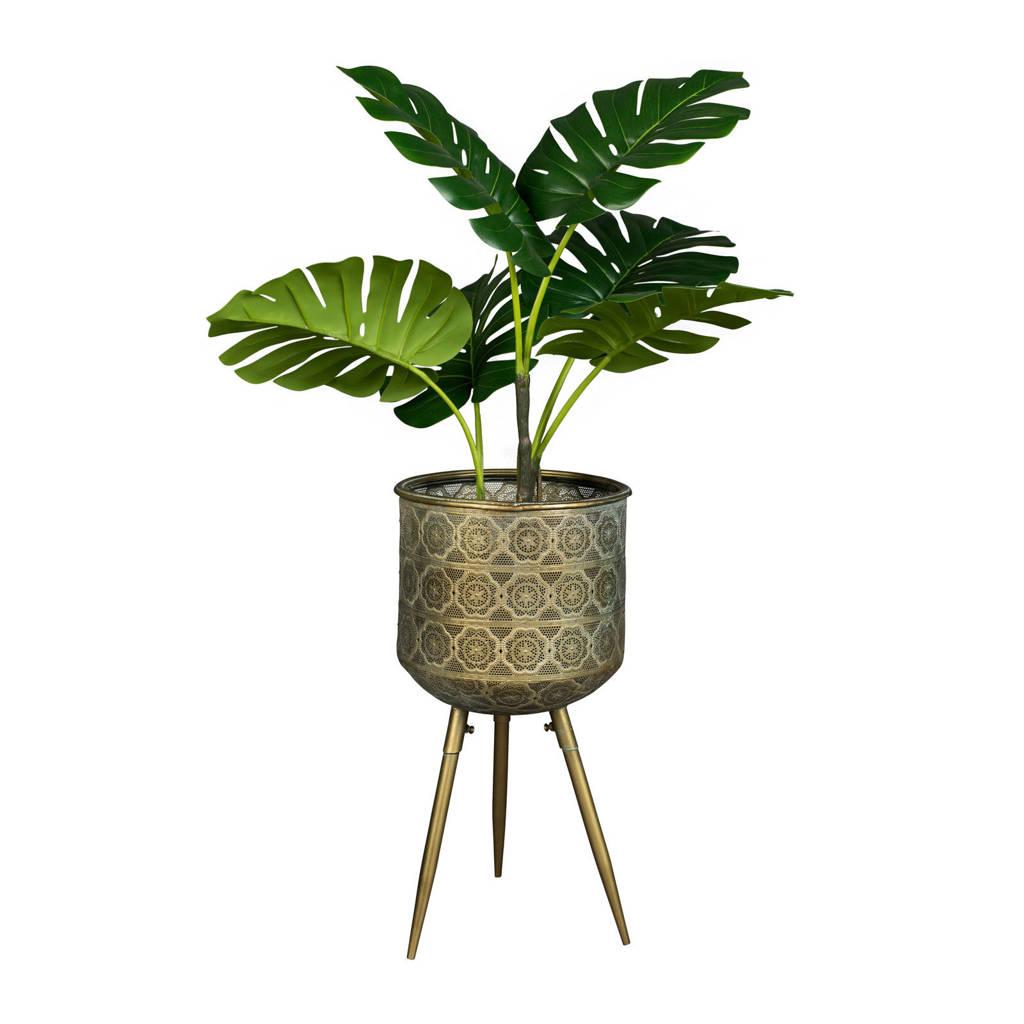 Dutchbone plantenbak, Goud