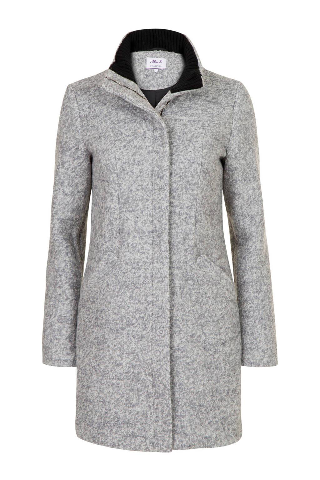 Miss Etam Regulier coat met wol zwart, Zwart