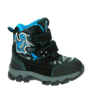 snowboots zwart/blauw