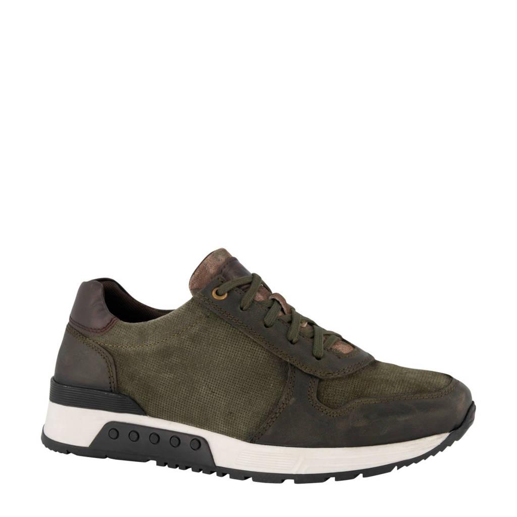 AM SHOE   nubuck sneakers groen, Groen