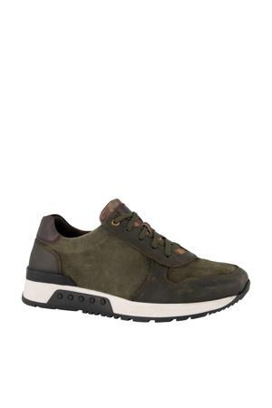 nubuck sneakers groen