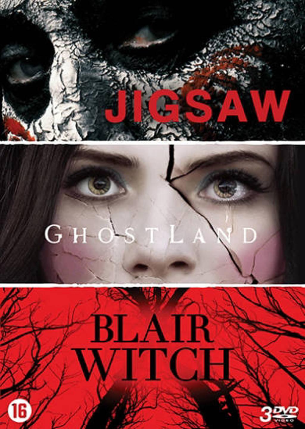 Jigsaw + Ghostland + Blair witch  (DVD)