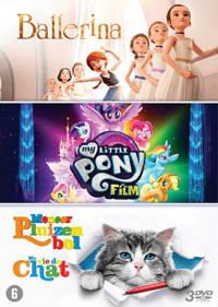 Ballerina + My little pony + Meneer Pluizenbol (DVD)