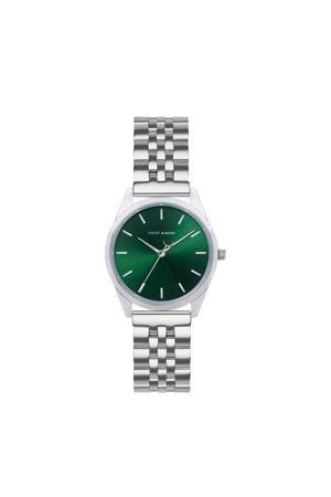 horloge  Serene City VH04008 groen/zilverkleurig
