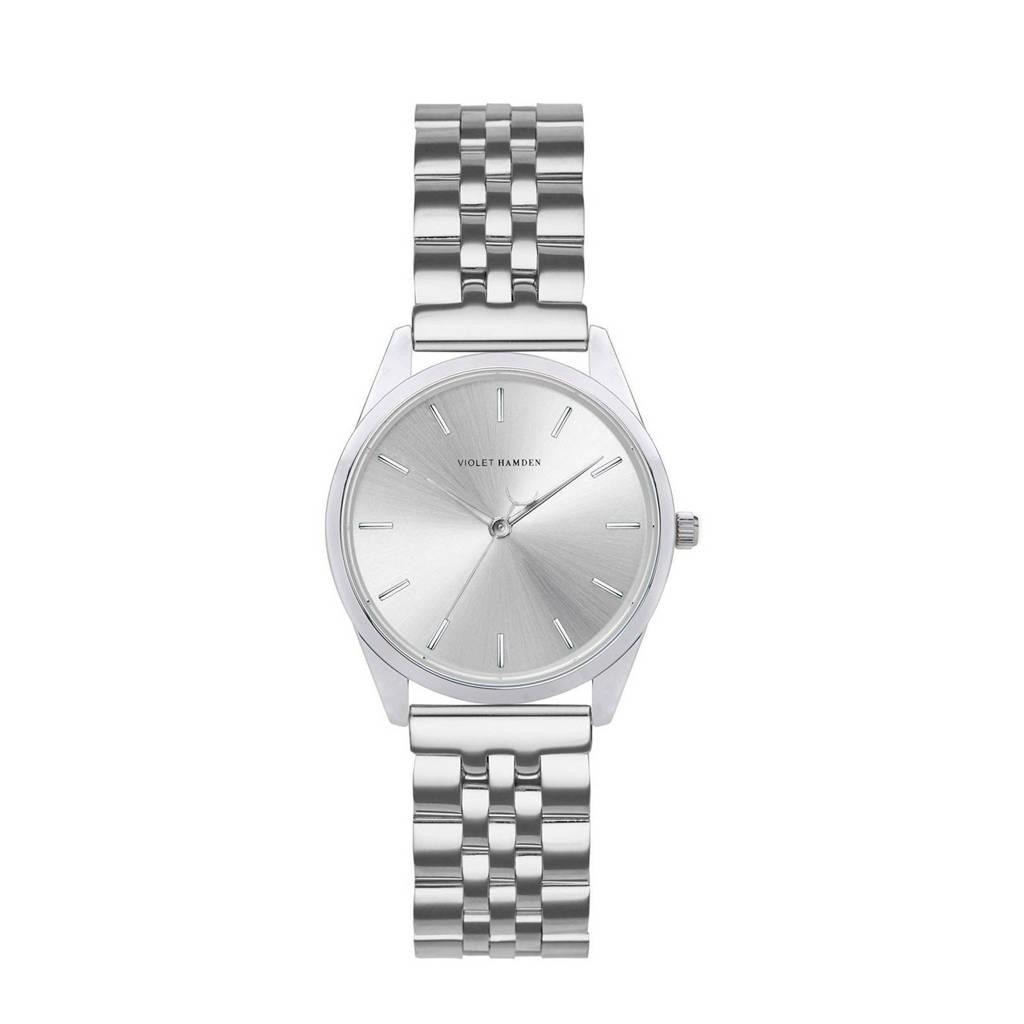 Violet Hamden horloge Serene City VH04001 zilverkleurig, Zilverkleurig